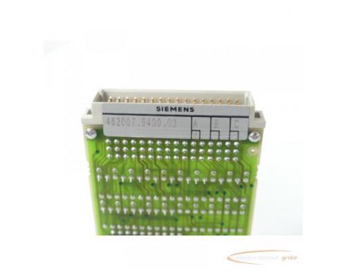 Siemens 462007.9400.03 Steuermodul Version A - Bild 2