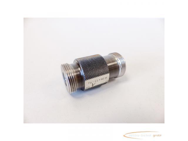 AGGRA-KORDT Gewindelehrdorn M 28 x 1.5 - 6g nicht kalibriert - 2