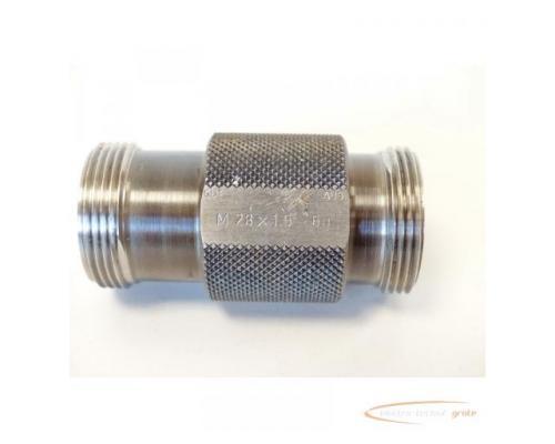 AGGRA-KORDT Gewindelehrdorn M 28 x 1.5 - 6g nicht kalibriert - Bild 6