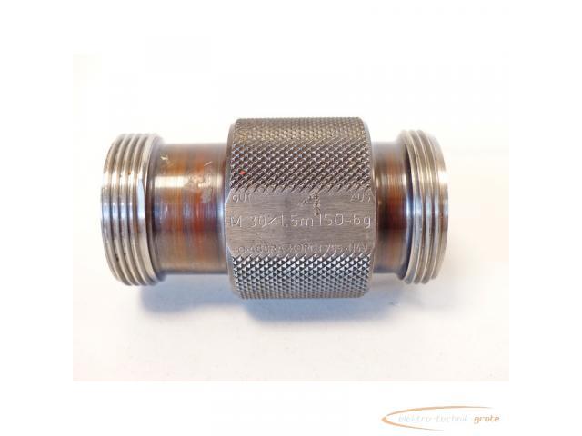 AGGRA-KORDT Gewindelehrdorn M 30 x 1.5m ISO - 6g nicht kalibriert - 5