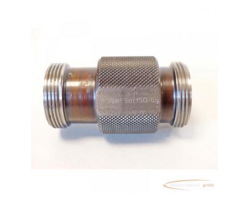 AGGRA-KORDT Gewindelehrdorn M 30 x 1.5m ISO - 6g nicht kalibriert - Bild 5