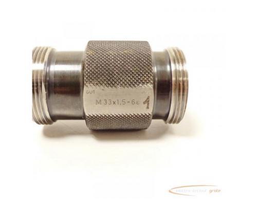CORD Gewindelehrdorn M 33 x 1.5 - 6e nicht kalibriert - Bild 5