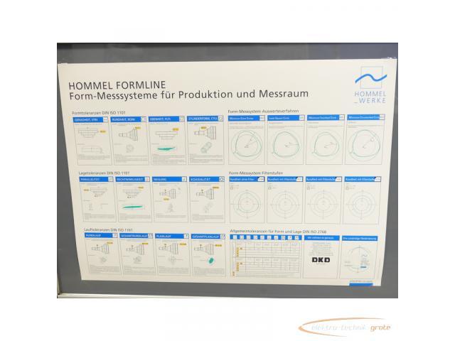 Hommel Formline Form - Messsysteme f. Produktion + Messraum Typ Hommel Tester F 2000 - 2