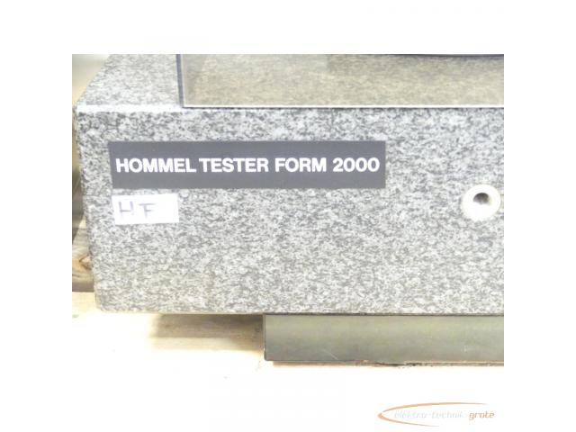 Hommel Formline Form - Messsysteme f. Produktion + Messraum Typ Hommel Tester F 2000 - 4
