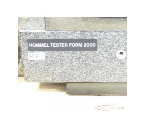 Hommel Formline Form - Messsysteme f. Produktion + Messraum Typ Hommel Tester F 2000 - Bild 4