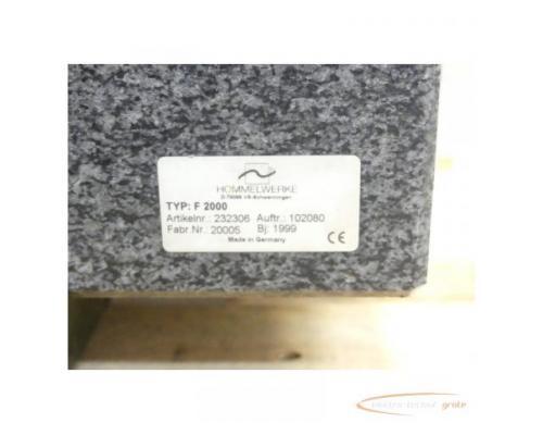 Hommel Formline Form - Messsysteme f. Produktion + Messraum Typ Hommel Tester F 2000 - Bild 5