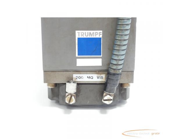 TRUMPF 200 MQ VIS Fokussieroptik + Haas - Laser NBB 22-30-20-00 SN:9061842 - 5