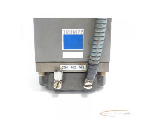 TRUMPF 200 MQ VIS Fokussieroptik + Haas - Laser NBB 22-30-20-00 SN:9061842 - Bild 5