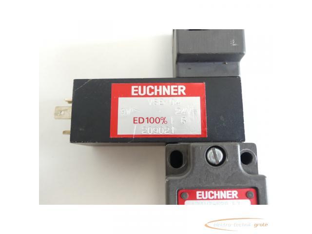 Euchner NZ1VZ-528 E3 / VSM04 L060 + VSE 04 9W 24V mit Anschlussbuchse - 6