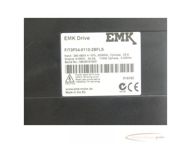 EMK FIT3P34-0110-2BFLS EMK Drive Frequenzumrichter SN:58636101002 - 4