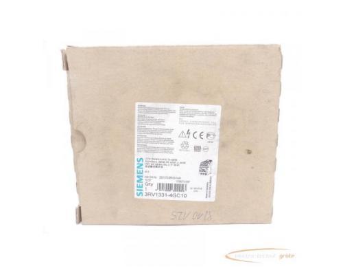 Siemens 3RV1331-4GC10 Leistungsschalter E-Stand: 05 > ungebraucht! - Bild 1
