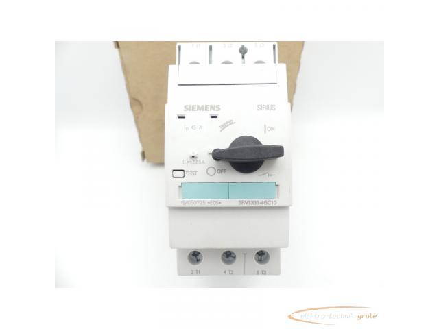 Siemens 3RV1331-4GC10 Leistungsschalter E-Stand: 05 > ungebraucht! - 2