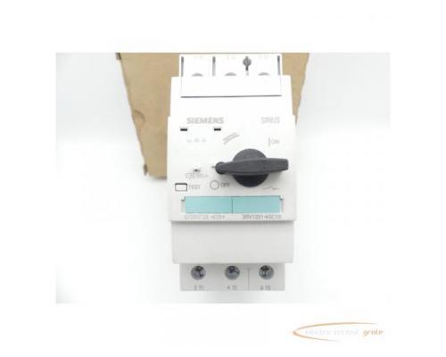 Siemens 3RV1331-4GC10 Leistungsschalter E-Stand: 05 > ungebraucht! - Bild 2