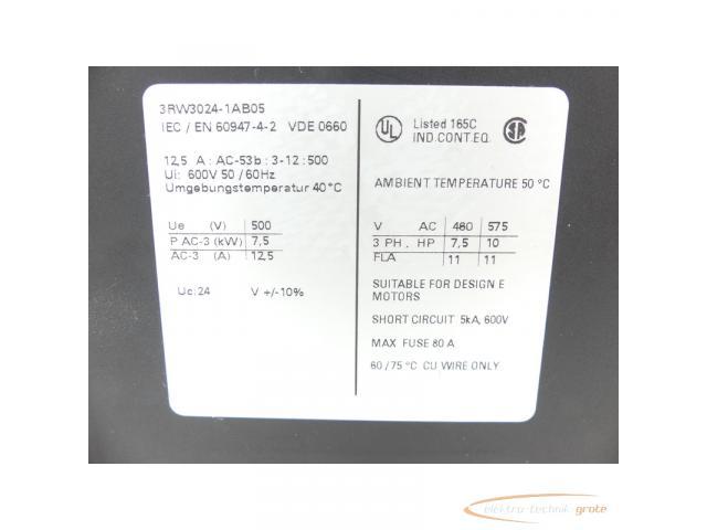 Siemens 3RW3024-1AB05 Sanftstarter - 2