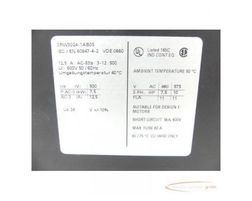 Siemens 3RW3024-1AB05 Sanftstarter - Bild 2