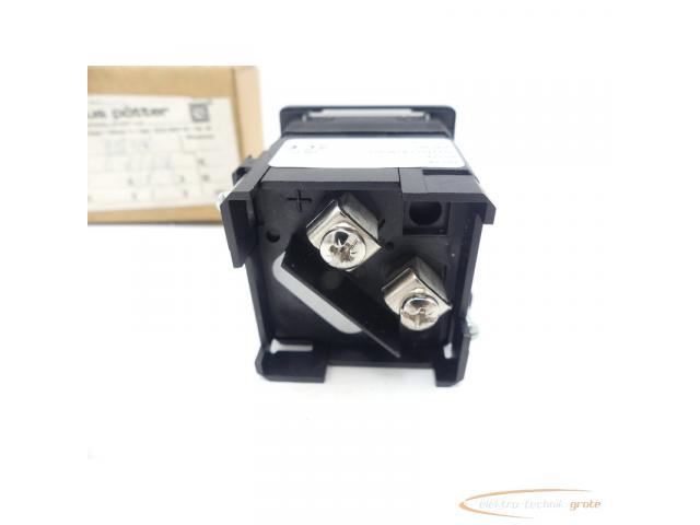 klaus pötter EQ48 Ampermeter 0-6/12 A Einbaumessgerät - 3