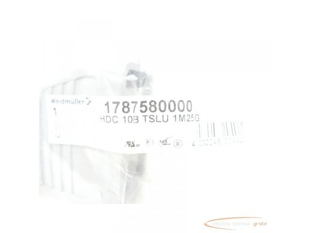 Weidmüller HDC 10B TSLU 1M25G Stecker-Gehäuse > ungebraucht! - 2