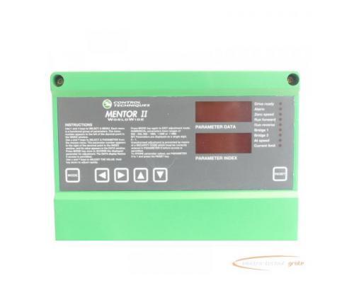 Control Techniques M75RGB14 Mentor II SN:33291607002 - Bild 3