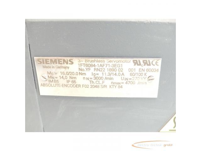 Siemens 1FT6084-1AF71-3EG1 SN:YFRN221890052 - mit 12 Monaten Gewährleistung! - - 4