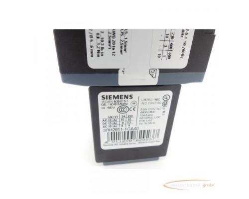Siemens 3RH2140-1FB40 Schütz+ 3RH2911-1GA40 Hilfsschütz - Bild 6