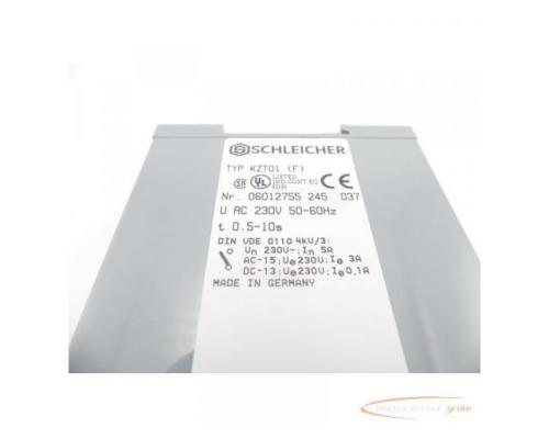 Schleicher KZT01 (F) Zeitrelais - Bild 5