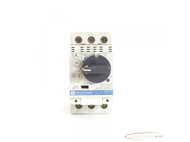 Telemecanique GV2-P08 Motorschutzschalter 2,5 - 4 A max. - 4