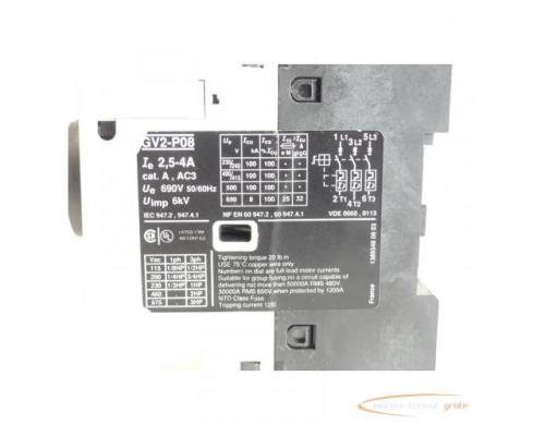 Telemecanique GV2-P08 Motorschutzschalter 2,5 - 4 A max. - Bild 5