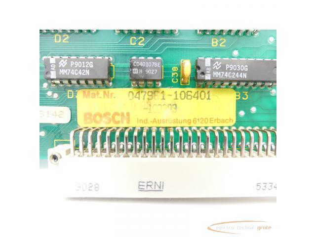 Bosch E24V Input Modul 047961-105401 E Stand 1 - 4