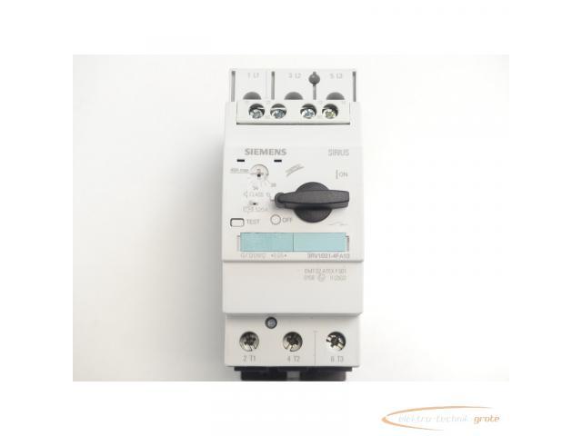 Siemens 3RV1031-4FA10 Leistungsschalter 28 - 40 A max. - ungebraucht! - - 3