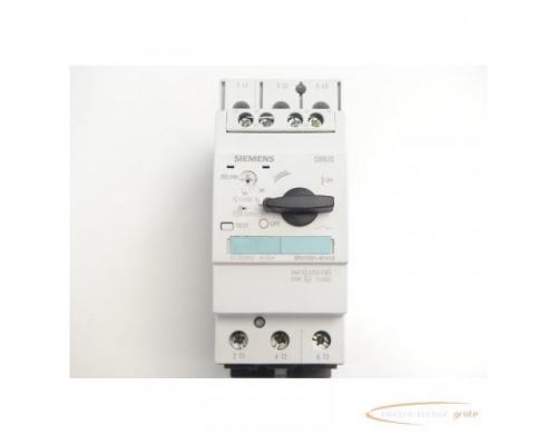Siemens 3RV1031-4FA10 Leistungsschalter 28 - 40 A max. - ungebraucht! - - Bild 3