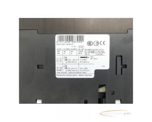 Siemens 3RV1031-4FA10 Leistungsschalter 28 - 40 A max. - ungebraucht! - - Bild 4
