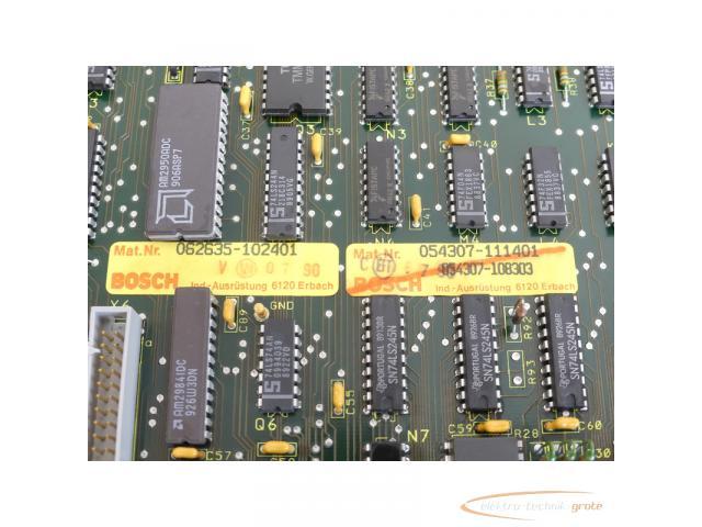Bosch CNC CP2 062635-102401 / 054307-111401 Modul SN:220734 - 6