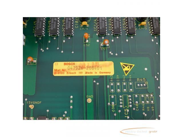 Bosch CNC Servo 047926-208401 Modul SN:228628 - 6