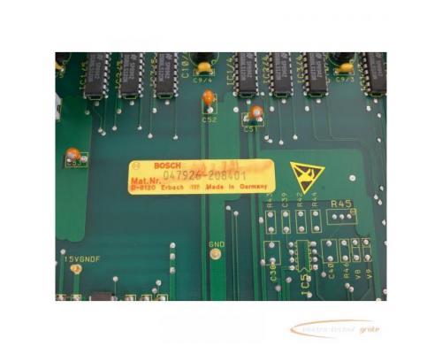 Bosch CNC Servo 047926-208401 Modul SN:228628 - Bild 6