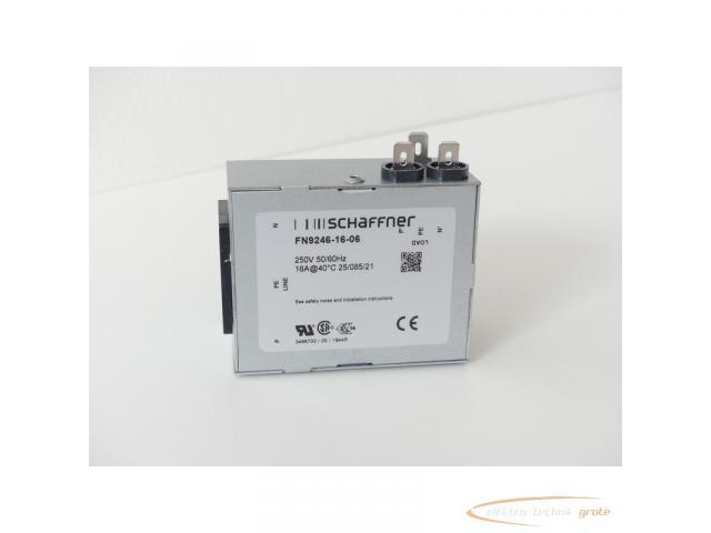 Schaffner FN9246-16-06 Strom-Eingangsmodul 250V - ungebraucht! - - 1