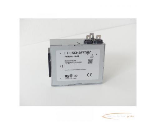 Schaffner FN9246-16-06 Strom-Eingangsmodul 250V - ungebraucht! - - Bild 1