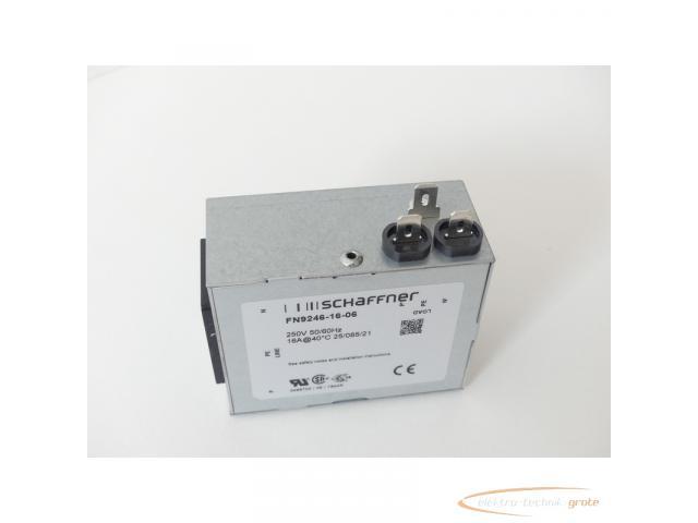Schaffner FN9246-16-06 Strom-Eingangsmodul 250V - ungebraucht! - - 3
