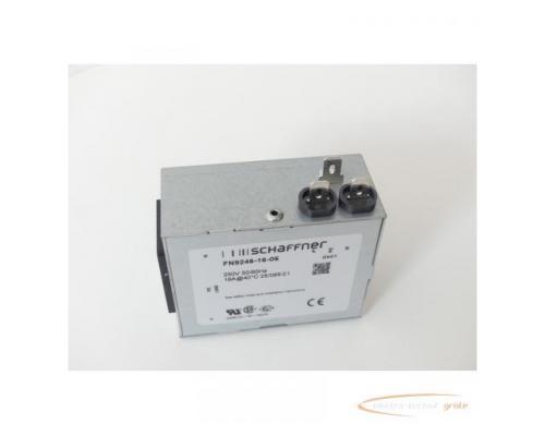 Schaffner FN9246-16-06 Strom-Eingangsmodul 250V - ungebraucht! - - Bild 3