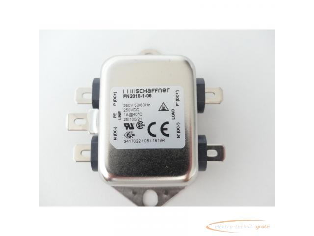 Schaffner FN2010-1-06 Netzfilter 250V - ungebraucht! - - 2