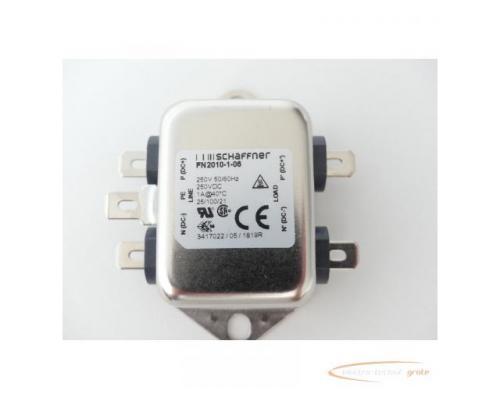 Schaffner FN2010-1-06 Netzfilter 250V - ungebraucht! - - Bild 2