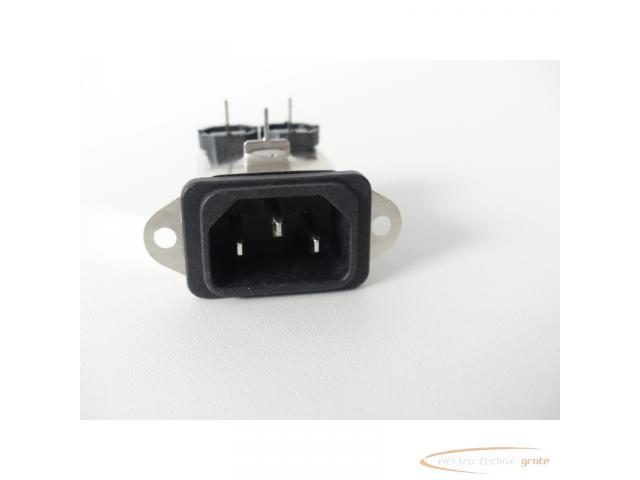 Schaffner FN9226B-1-02 Gerätestecker 250V - ungebraucht! - - 3