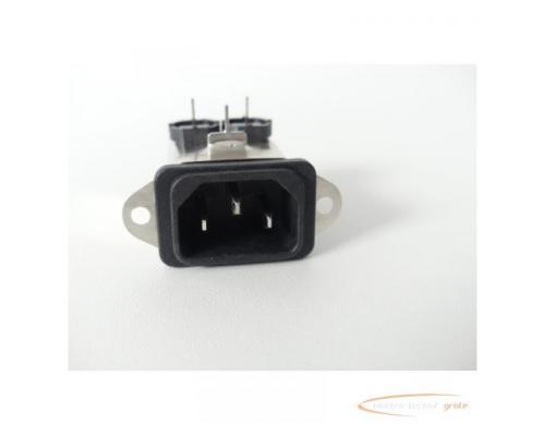 Schaffner FN9226B-1-02 Gerätestecker 250V - ungebraucht! - - Bild 3