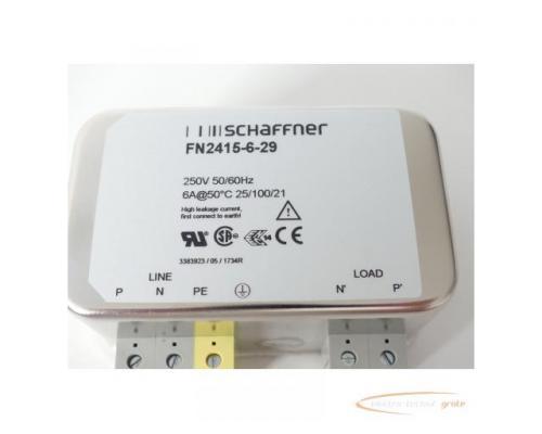 Schaffner FN2415-6-29 Entstörfilter 250V - ungebraucht! - - Bild 2