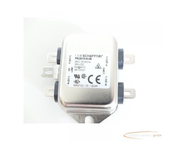 Schaffner FN2010-6-06 Spannungsversorgungsleitungsfilter 250V - ungebraucht! - - 2