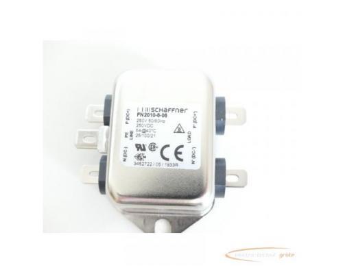Schaffner FN2010-6-06 Spannungsversorgungsleitungsfilter 250V - ungebraucht! - - Bild 2