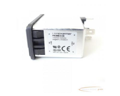 Schaffner FN286B-6-06 Gerätestecker mit Schalter 110/250V - ungebraucht! - - Bild 2