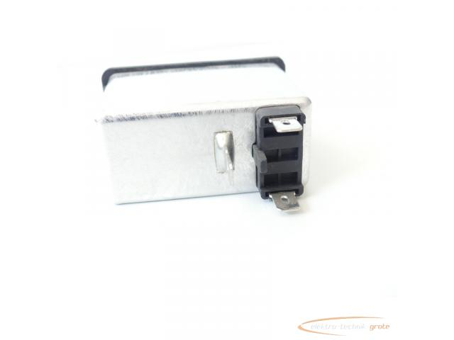 Schaffner FN286B-6-06 Gerätestecker mit Schalter 110/250V - ungebraucht! - - 3