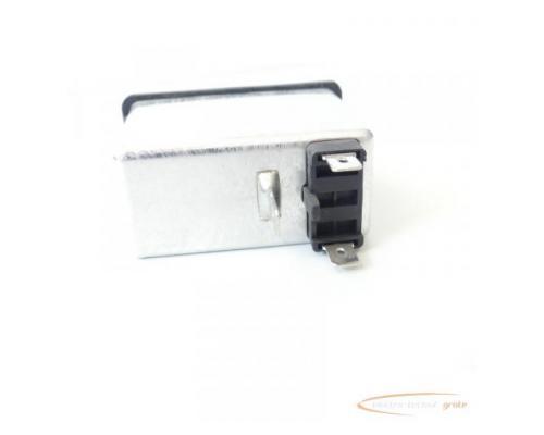 Schaffner FN286B-6-06 Gerätestecker mit Schalter 110/250V - ungebraucht! - - Bild 3