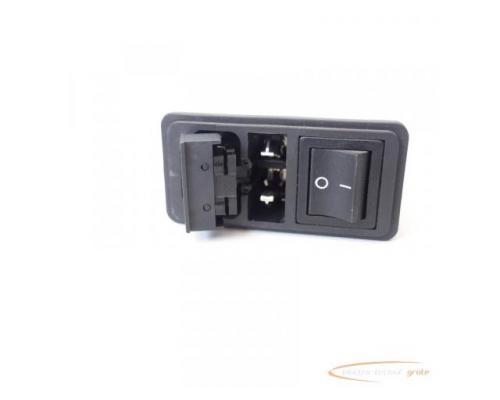Schaffner FN286B-6-06 Gerätestecker mit Schalter 110/250V - ungebraucht! - - Bild 5
