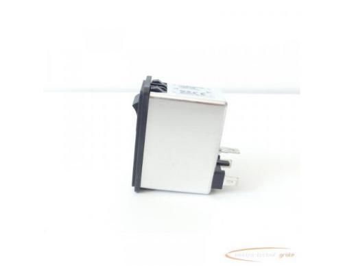 Schaffner FN286B-6-06 Gerätestecker mit Schalter 110/250V - ungebraucht! - - Bild 6